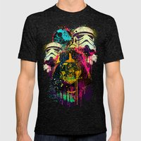 EMPIRE POP Mens Fitted Tee Tri-Black SMALL