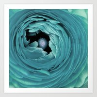Sea Flower Art Print