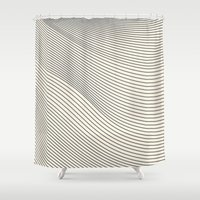 think out of the box II Shower Curtain