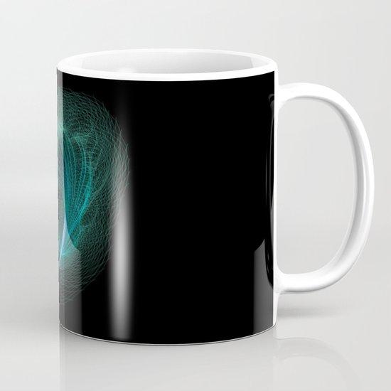 Designer feather Mug