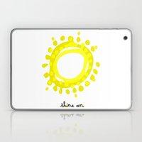 Shine on! Laptop & iPad Skin