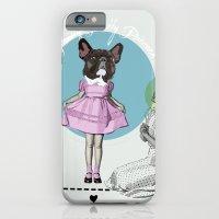 Pretty Chauncey Princess - French Bulldog iPhone 6 Slim Case