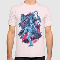Kali Mens Fitted Tee Light Pink SMALL
