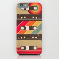 iPhone & iPod Case featuring Mixed Tapes by geekchic
