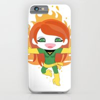iPhone & iPod Case featuring X-man Jean Grey 'Phoenix' Robotic by We are Robotic