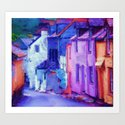 Cornwall Colors Art Print