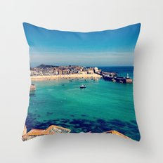 St Ives Throw Pillow