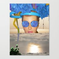 Submision 101 - Artifici… Canvas Print