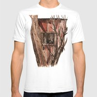 Barn Window Mens Fitted Tee White SMALL