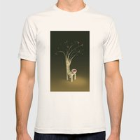 Strawberry Guava Tree Mens Fitted Tee Natural SMALL