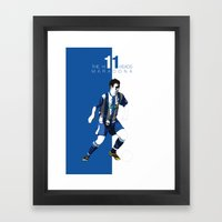 The Hillheads Maradona Framed Art Print