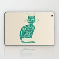 'The Cat That Walked By … Laptop & iPad Skin