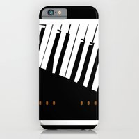 iPhone & iPod Case featuring BROKEN  P . . . AN . . . O by bsvc