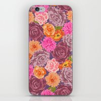 WILDFLOWER: Roses, Chrys… iPhone & iPod Skin