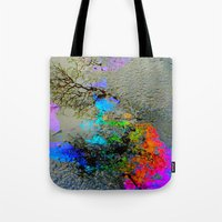 Urban Rainbow Tote Bag