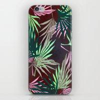 Dark Leaf iPhone & iPod Skin