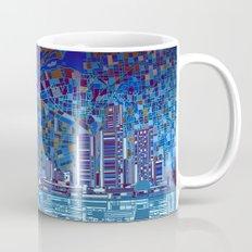 detroit city skyline Mug