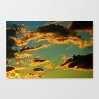 My Vintage Sky Canvas Print