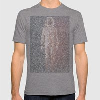 Major Tom Trilogy Mens Fitted Tee Tri-Grey SMALL