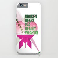 Broken Heart Is A Deadly Weapon iPhone 6 Slim Case