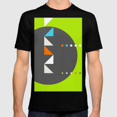 Spot Slice 03 SMALL Black Mens Fitted Tee