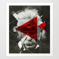 Albert E Mix 2c Art Print