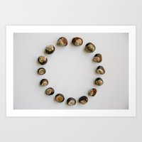 Chestnut Collection Circ… Art Print