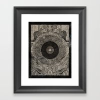When the Past Was Present Framed Art Print