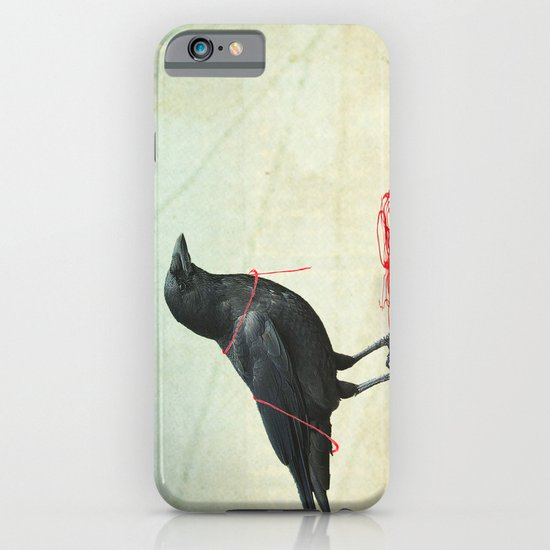 freedom  _ black crow iPhone & iPod Case