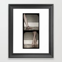Top/Bottom Framed Art Print