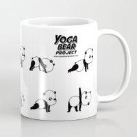Yoga Bear - Panda Mug