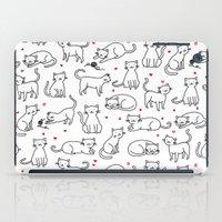 Kitties with Hearts iPad Case
