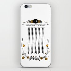 2015 Illustrated Phases of the Moon Calendar iPhone & iPod Skin
