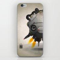 Antigravity Prototype V-… iPhone & iPod Skin