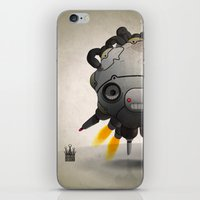 Antigravity Prototype V-… iPhone & iPod Skin
