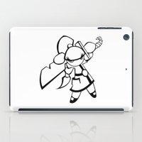 Kawaii Doll Samurai iPad Case
