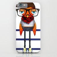 Hipster Bird iPhone 6 Slim Case