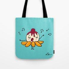 Peach Melba Tote Bag
