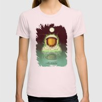 Visit Lake Silencio! Womens Fitted Tee Light Pink SMALL