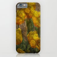 Tulips background iPhone 6 Slim Case
