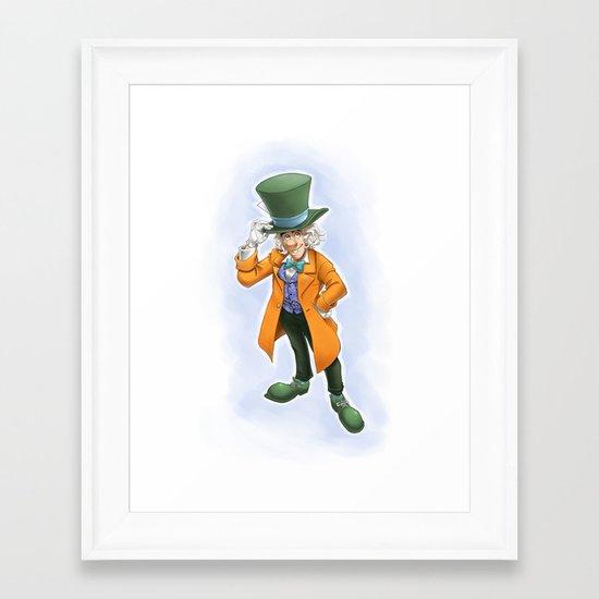 Reginald Framed Art Print