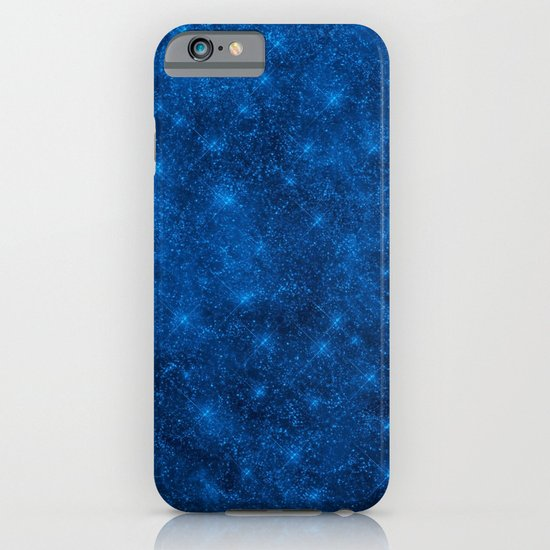 Sequin series blue iPhone & iPod Case