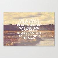 The Human Spirit Canvas Print