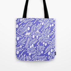 Olive Branches – Periwinkle Tote Bag