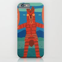 iPhone Cases featuring Alien Baltan by Jack Teagle