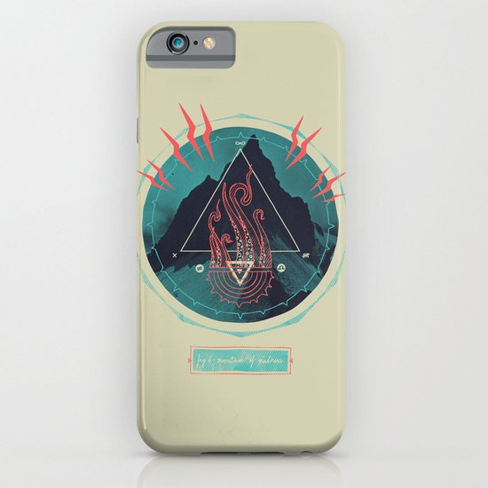 Mountain of Madness iPhone & iPod Case