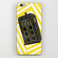 Time And Relative Dimension In Space iPhone & iPod Skin