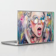 Laptop & iPad Skin featuring Perception by Tanya Shatseva