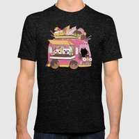 IceCream Truck Mens Fitted Tee Tri-Black SMALL