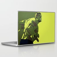 hulk Laptop & iPad Skins featuring Hulk by iankingart